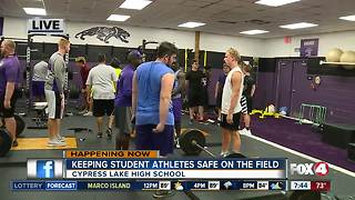 FHSAA requires heat stroke training for coaches and athletes - 7:30am live report - Video
