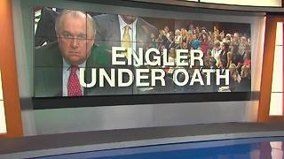 Engler admits to making errors at MSU while testifying before Congress