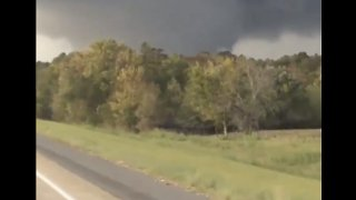 Funnel Cloud Spotted North of Natchitoches, Louisiana