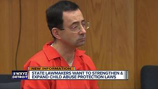 State lawmakers want to strengthen and expand child abuse protection laws - Video