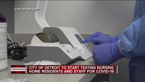 City of Detroit to start testing nursing home residents, staff for COVID-19
