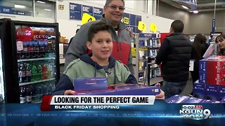 One child's Black Friday experience