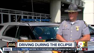 Watch for distracted driving during the solar eclipse - Video