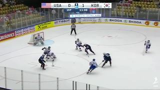 Dylan Larkin, USA score 13 unanswered in win over Korea