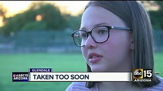 Family, friends honor teenage girl killed in crash last month - Video