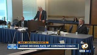 Judge decides fate of Coronado coach - Video