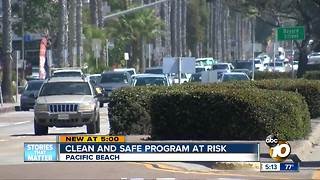Clean and safe program at risk in Pacific Beach - Video