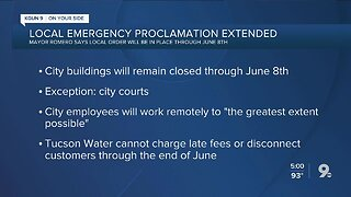 Mayor Romero extends local emergency through June 8