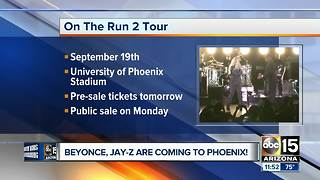 Beyonce, Jay-Z announce 'OTR II' tour - Video