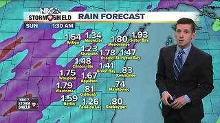 Soaking rains tonight into tomorrow - Video