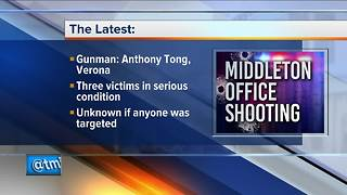 Suspect identified in Middleton office shooting - Video