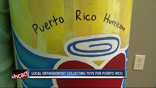 Local doctor gathers toys to help children in Puerto Rico
