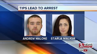 Two arrested on felony charges after shoplifting incident