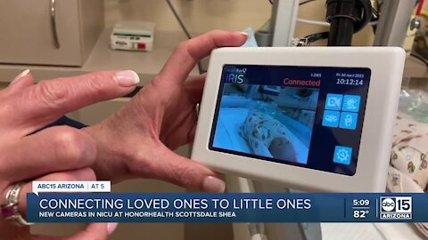 Valley hospital using NICU cameras to connect loved ones to little ones