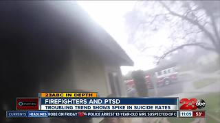 Firefighters and PTSD, troubling trend shows spike in suicide rates