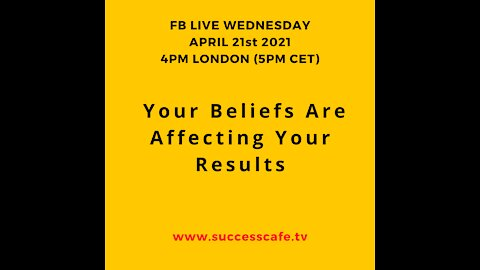 Your Beliefs Are Affecting Your Results