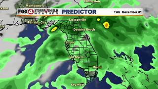 Rain Chances Going Up This Week - Video