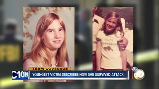 Youngest victim describes how she survived attack - Video