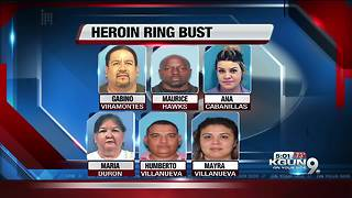 FBI busts alleged Tucson-based heroin ring - Video