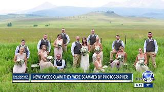 Three Colorado brides say they were scammed by same wedding photographer - Video