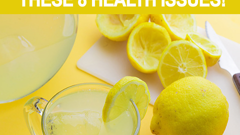 8 health issues resolved with lemon water