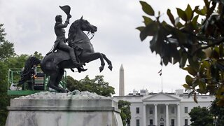 Police Thwart Attempt To Pull Down Andrew Jackson Statue In D.C.