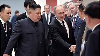 Putin and Kim Meeting Ends