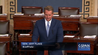 Sen. Jeff Flake Won't Seek Re-election - Video