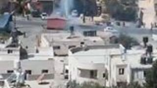 Clashes Break Out Near Home of Palestinian Gunman - Video