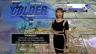Chilly, wet weather arrives in SW Idaho starting Friday - Video