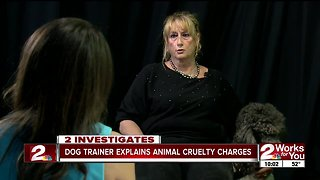 Oklahoma dog trainer speaks about animal cruelty accusations