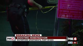 Man shot at Fort Myers apartment complex - Video