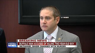 Buffalo man charged with murder in death of two-year-old child