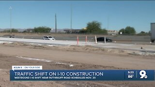 Major traffic switch coming to I-10 near Ruthrauff
