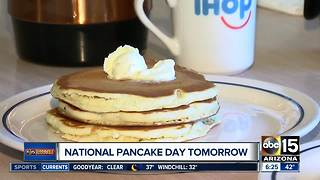 Get free pancakes at IHOP on Tuesday