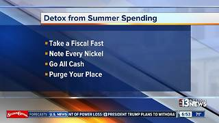Tips to detox from summer spending - Video