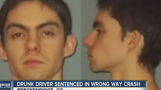 Drunk driver sentenced in wrong way crash - Video