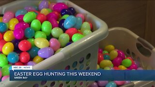 Local Easter egg hunt preps