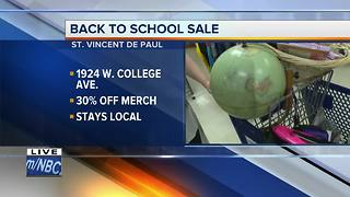 Back to School Sale - Video