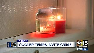 Cooler temps and open windows invite crime into the home - Video