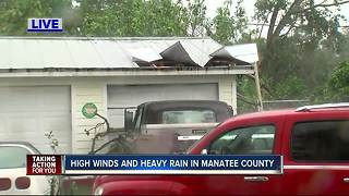 Manatee County damage - Video