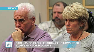Parents Of Casey Anthony File Lawsuit To Stop Bank Foreclosure - Video