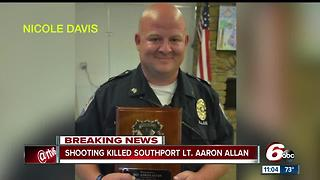 Southport Police Department Lieutenant Aaron Allan dies after shooting in Homecroft - Video