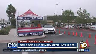 Polls open for June primary - Video