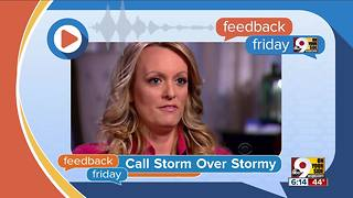 Feedback Friday: Taxes, Storm Daniels and rain - Video