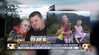 Kenton Co. crash survivor charged with murder - Video