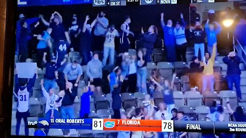 15 seed Oral Roberts beats Florida