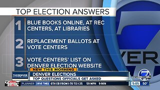 Denver election day Tuesday: Top questions answered