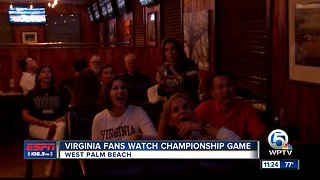 UVA of the Palm Beaches championship watch party