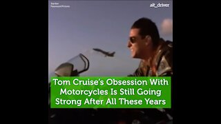 Tom Cruise is Obsessed with Motorcycles